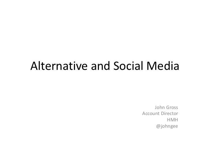 PSU Lecture - New media
