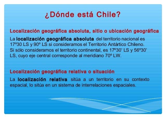 Chile Localizacion Geografica la Localización Geográfica