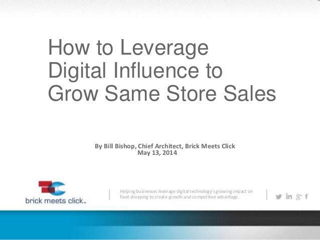 How to Leverage Digital Influence to Grow Same Store Sales