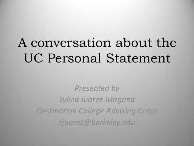 uc personal statement prompts 2010