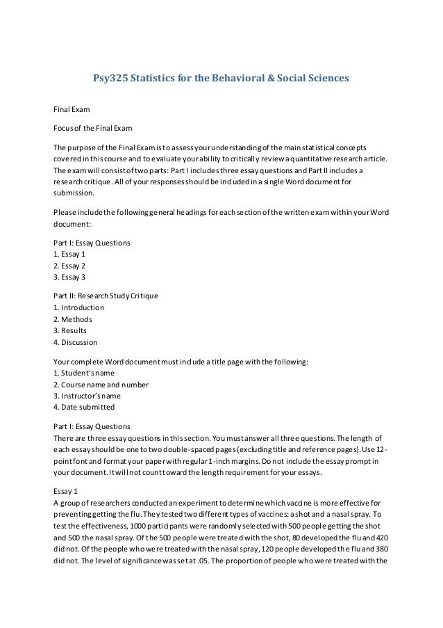 psy325 statistics for the behavioral We can work on psy325: statistics for the behavioral & social sciences final research paper [embedded content.