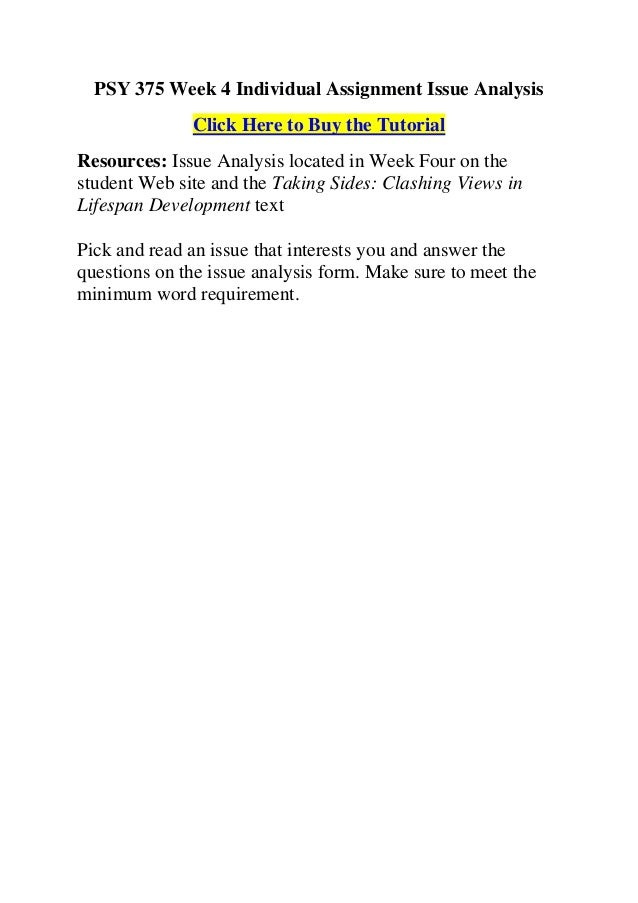 PSY 265 - PowerPoint PPT Presentation