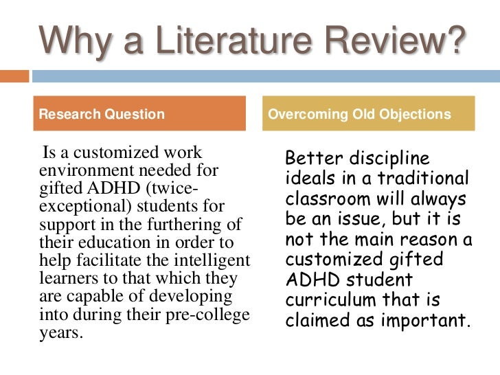 literature review on research methods