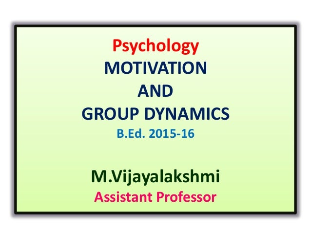 group dynamics case study Case studies on group behavior and work team in organizations case studies on group behavior and work this case study revolves around the concept of team.