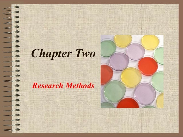 Chapter Two Research Methods