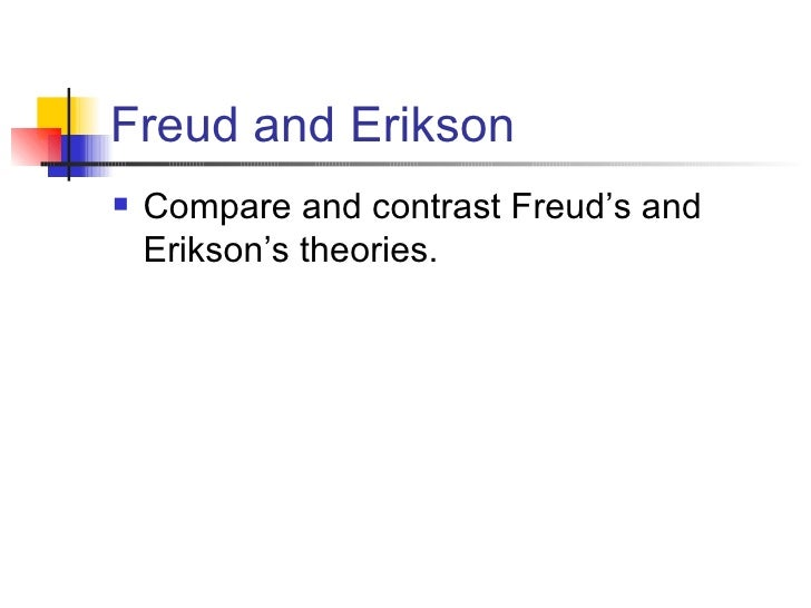 compare and contrast freud versus erickson What is the difference between freud and jung  compare and discern the clear difference between any similar things home » difference between freud and jung.