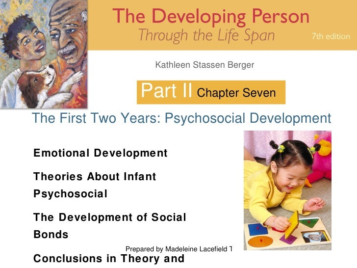 Part II The First Two Years: Psychosocial Development Chapter Seven Emotional Development Theories About Infant Psychosoci...