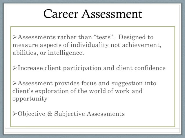 Career Assessment Tools For Counseling Car Pictures - Car Canyon