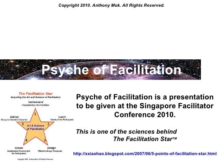 Psyche of Facilitation - The New Language of Facilitating Conversations