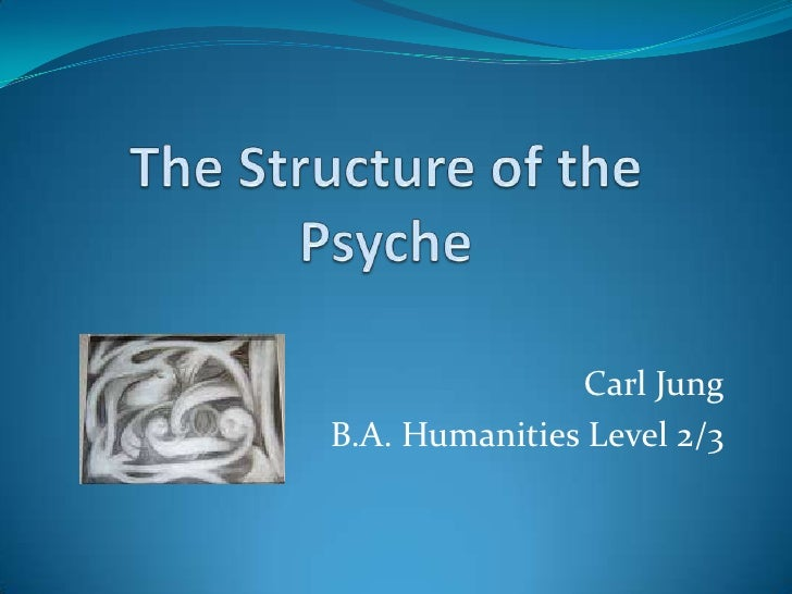 The Structure of the Psyche<br />Carl Jung<br />B.A. Humanities Level 2/3<br />
