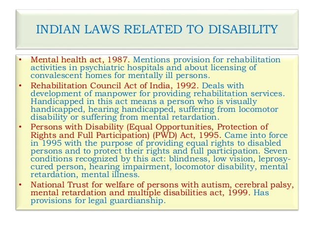 disability mental health