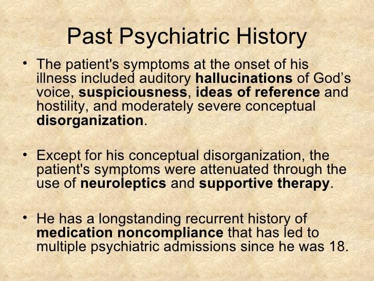 psychiatric case studies