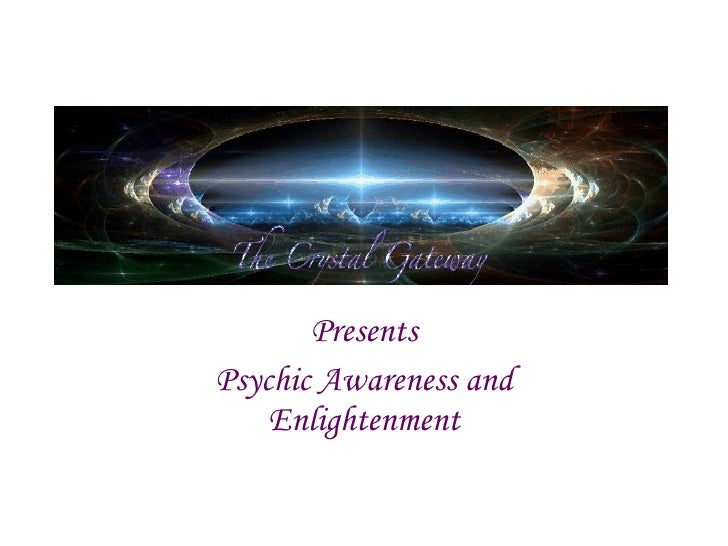 Psychic awareness and enlightenment course