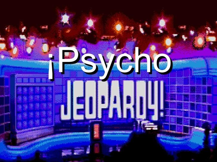 Psycho Jeopardy Rev2007