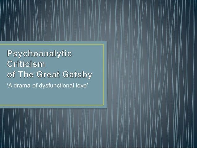 Where can I find criticism on the Great Gatsby?