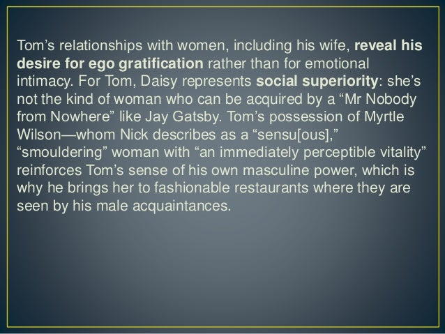 tom and daisys unstable relationship essay Relationships values a lot in our life they help us to grow well, increase our awareness, improve our talents and so many activities necessary to live healthy and you can select any relationships essay according to your choice and requirements to easily get participated in the competition of essay writing.