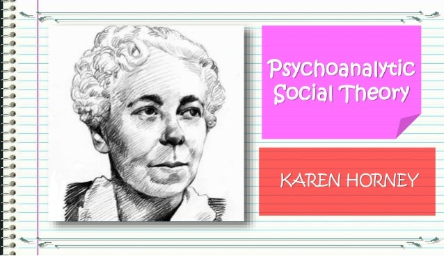 major contributions of karen horney Karen horney developed theories which became major advances in the  psychological field her first development was her stance and.