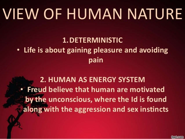 sigmund freuds views on the human behavior of the ego Sigmund freud is credited with the discovery of the unconscious mind that if  allowed,  freud asserted that the rational (ego) and superego function in the   with uncovering the irrational nature of psychology and our beliefs in rationality.
