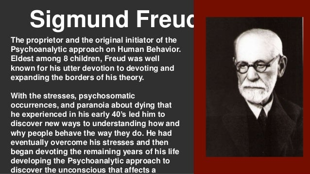 a criticism of psychoanalysis and sigmund freud Sigmund freud theorized that the mind was divided into three parts: id, ego and superego the id is the part of the mind that contains one's most basic and instinctive drives it is governed by sexual and aggressive desires and pleasure seeking.