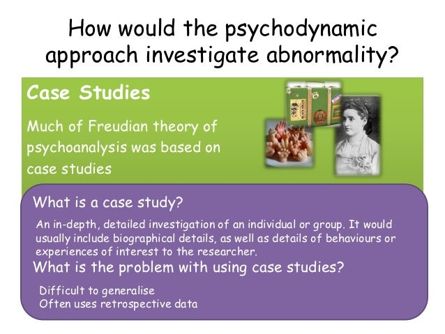 psychodynamic case study