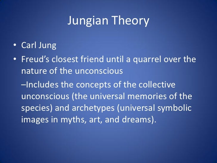describe and evaluate carl jung's theory Biography of carl jung a pages: 7  another principal feature of jung's theory of personality is  'describe and evaluate carl jung's theory concerning.