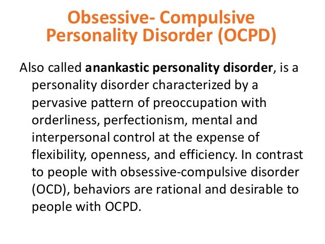 an essay on obsessive compulsive disorder