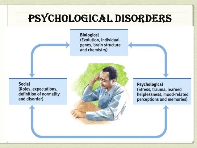 psychological disorders 2012-8-27 1 types of psychological disorders there are many different conditions that are recognized as psychological health disorders the more common types include.