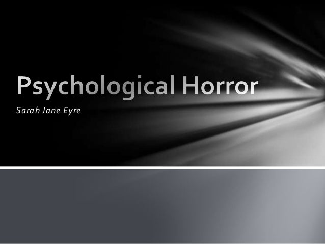 AS Media Gene Research Psychological horror