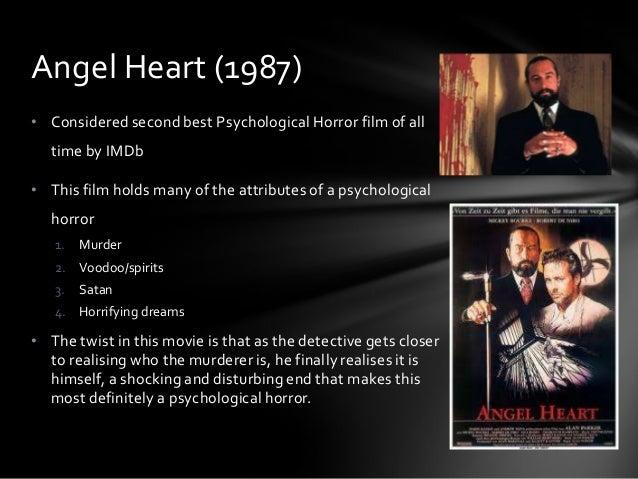 Horror film research paper topics