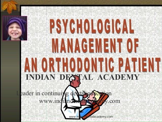 Psychological management