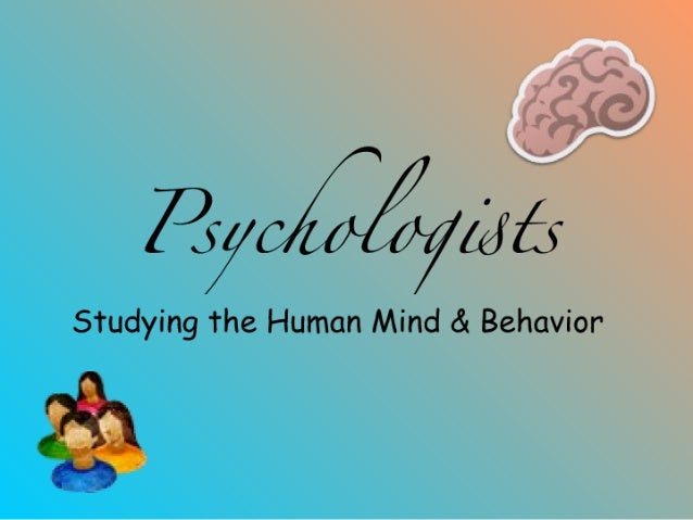 Psychologist Power Point