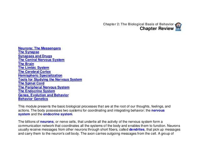 Chapter 2: The Biological Basis of Behavior                                                                               ...