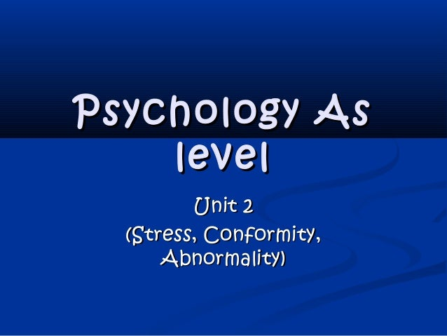 coursework level psychology