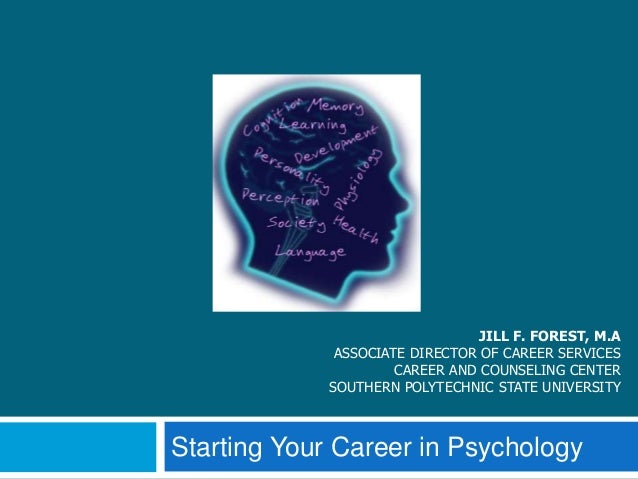 Psychology Careers - First Steps