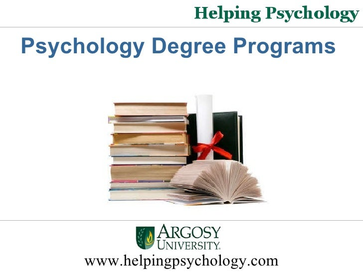 Psychology Degree Programs