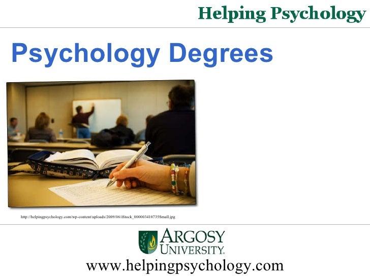 Psychology Degrees