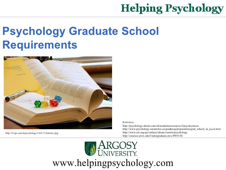 Psychology Graduate School Requirements