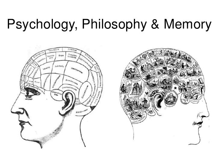 Psychology, Philosophy & Memory
