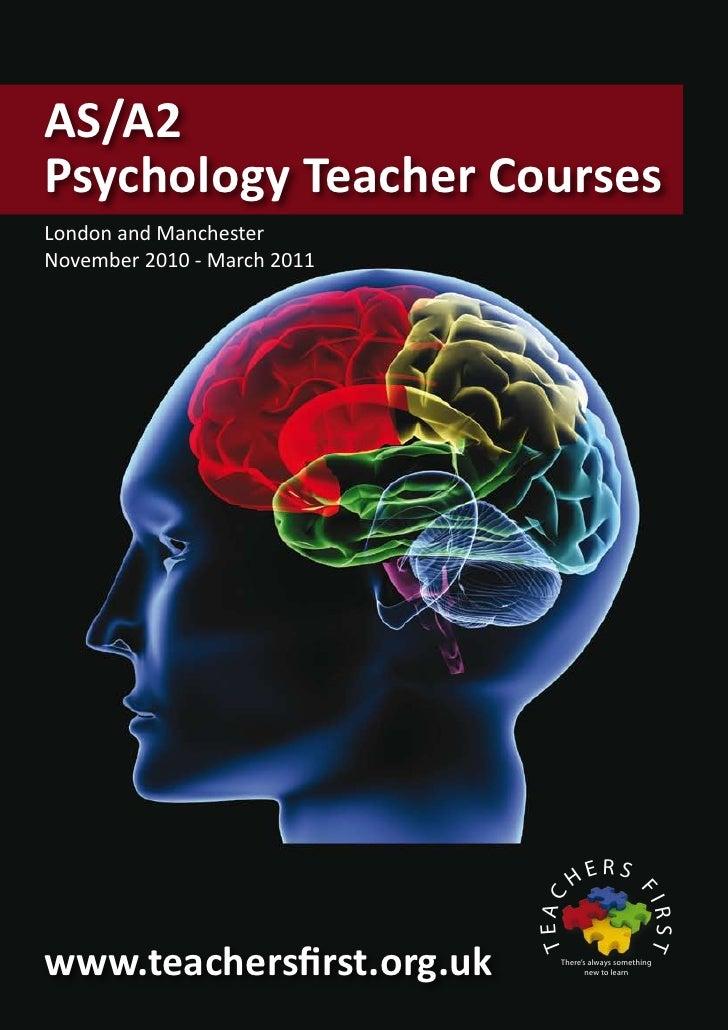 Psychology teacher
