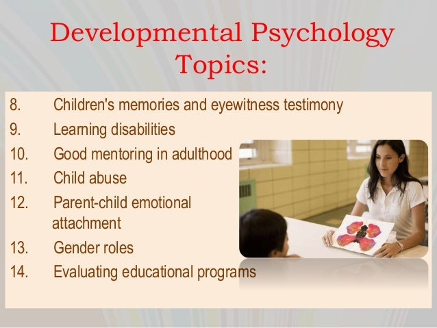 Developmental And Child Psychology term paper free