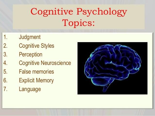 Psychology term paper ideas