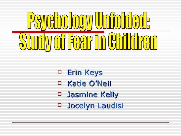 Psychology Unfolded