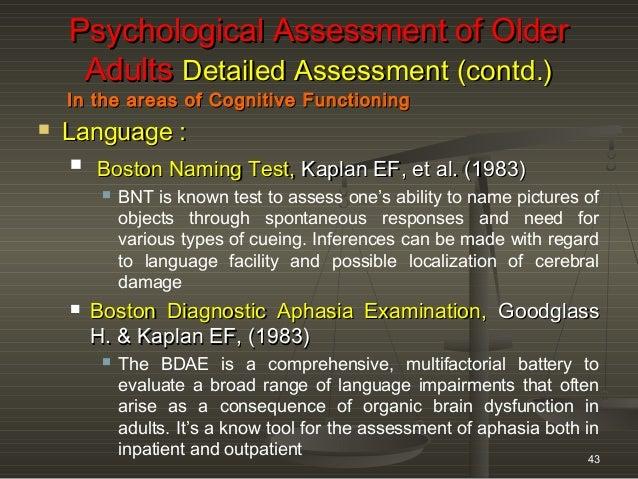 Boston Naming Test Scoring Form Boston Naming Test,boston