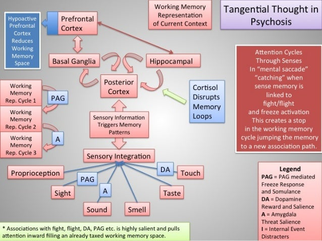 Psychosis - Model of Tangentiality in Psychosis