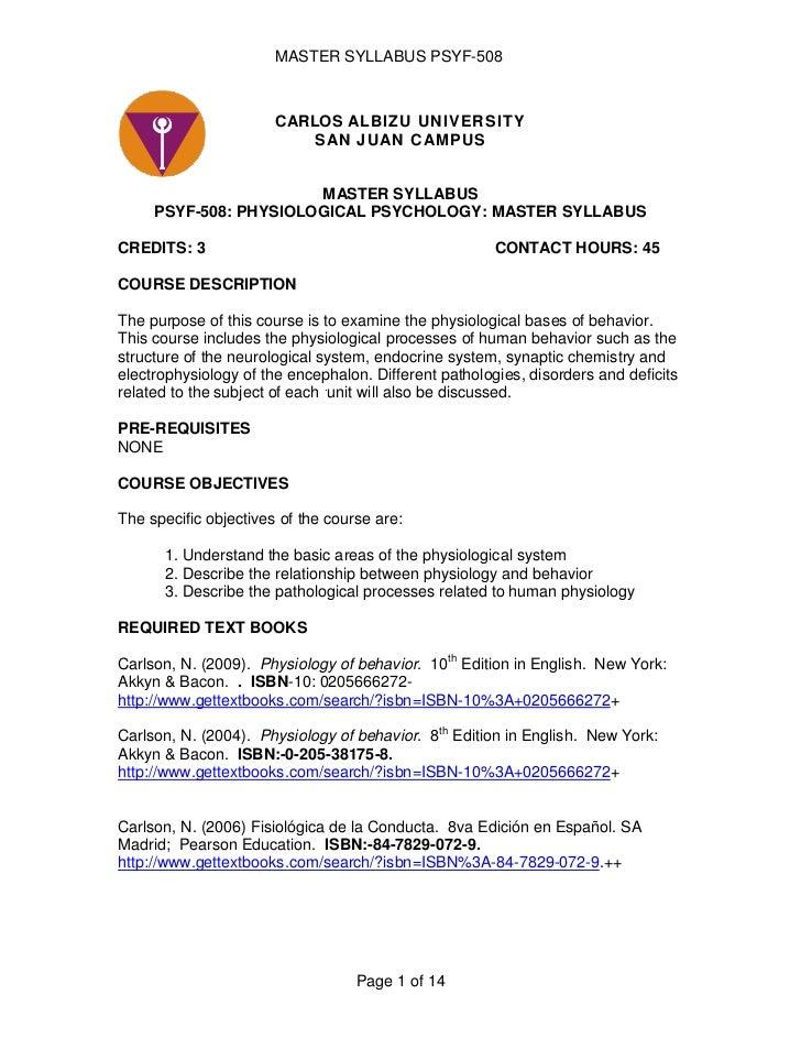 Psyf 508 master syllabus-january 2010
