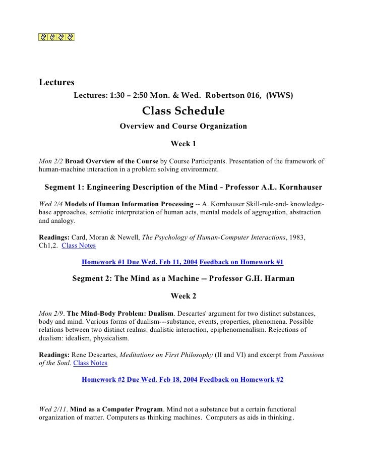 PsyOrf322s04Lectures.doc