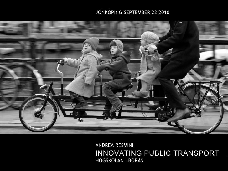 Innovating public transport