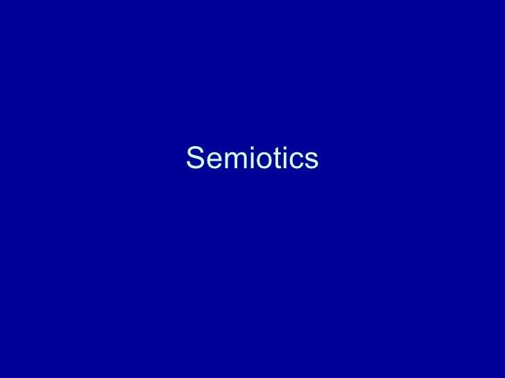 ND Year one - Pt 2 advertising semiotics intro