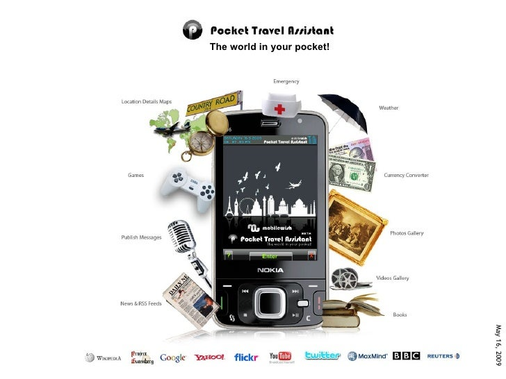 The world in your pocket!