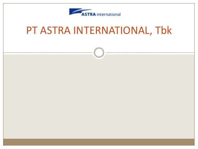 Profil pt astra international tbk for Dekor international pt